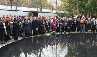 Inauguration of the Memorial to the Murdered Sinti and Roma under the National Socialist Regime, October 24, 2012